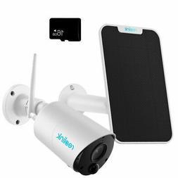 WiFi Security Camera 1080P Battery Powered Argus Eco + Solar