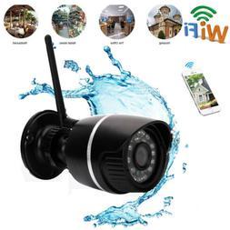 Wifi 720P HD ONVIF Waterproof Wireless IR Cut Security IP Ca