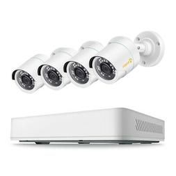 8 Channel H.265+ 1080P DVR 2MP Wired Security Camera System