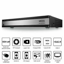 ZOSI H.265+ 16Channel 1080N TVI HD Surveillance CCTV DVR sec