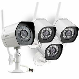 Zmodo Mini Smart PoE -- 4 Channel NVR & 4 x 720p IP Cameras