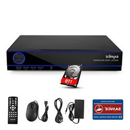 SANNCE 16 Channel AHD1080N 5-IN-1 DVR Home Security DVR Came