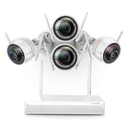 EZVIZ All-in-One Wi-Fi Security System, 4 Cameras 1080p With