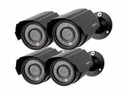 Zmodo 4-Pack Analog CCTV 700TVL HD Bullet Home Security Came
