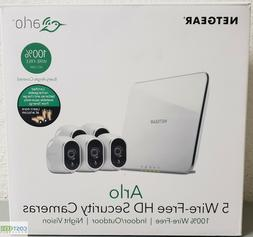Arlo 720P HD 5 Wire-Free Battery Cameras Security System Ind