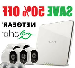 Netgear Arlo Smart Security System 5 HD Wire-Free Cameras Ni