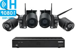 LOREX Audio Rechargeable Security Camera System 1TB 4 Wirele