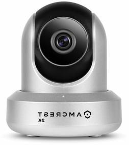 Video Baby Monitor UltraHD 2K HD Security Camera Dual Band W