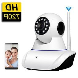 SDETER WiFi IP Camera Wireless Home Security Camera for Baby