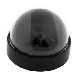 Black Plastic Surveillance Security CCTV Dome Camera Housing