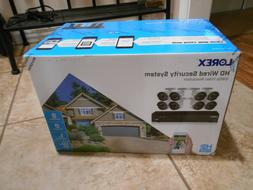 brand new hd wired security camera system