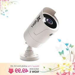 Outdoor 2 Megapixel Bullet Camera with Color Night Vision, U