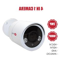 Bullet Security Camera 1/2.9 1080p 30fps 2MP 4 in 1 AHD / CV