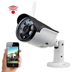 UOKOO Bullet Camera, Megapixel 720P HD Home Surveillance Ind