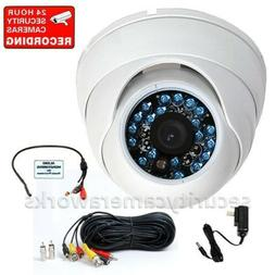 CCD Dome IR Security Camera Outdoor Night Vision Wide Angle