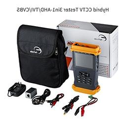 ForTronix 3.5 inch CCTV Tester 3 in 1 for 1080P AHD TVI CVBS