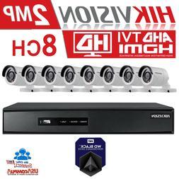 HIKVISION CCTV Security Camera System Kit  8CH Turbo HD DVR