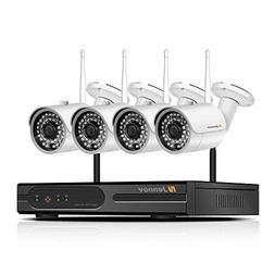 Jennov Wireless Security Camera System 1 HDMI NVR + 4 x HD 1