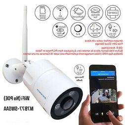Microseven 1080P HD WiFi Outdoor Camera, Alexa, Two-Way Audi