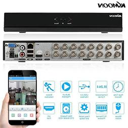 kkmoon 16 channel 960h d1 cctv dvr recorder h 264 hdmi home