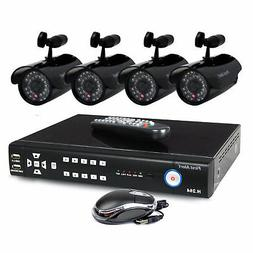 First Alert DC4405-420 SmartBridge 4-Channel DVR Video Secur