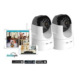 2 Pack D-Link DCS-5222L 720p Pan Tilt Wireless Surveillance