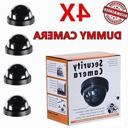 Dummy Camera FAKE Surveillance Security Flashing Red LED Lig
