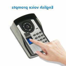 Fingerprint Remote control password unlock home security doo