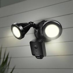 Floodlight Cam Outdoor Security Camera Black BRAND NEW Facto