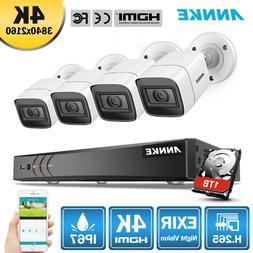 <font><b>ANNKE</b></font> 4K Ultra HD 8CH DVR H.265 CCTV <fo