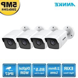 <font><b>ANNKE</b></font> 4X Ultra HD 5MP TVI CCTV <font><b>