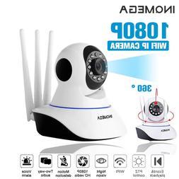 INQMEGA <font><b>HD</b></font> 1080P Wireless WIFI IP <font>