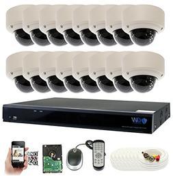 GW Security 16 Channel 5 Megapixel 5 in 1 DVR + 16 x HD-TVI