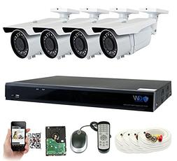 GW 5 Megapixel HD 1920P Complete Security System |  x 5MP Ou