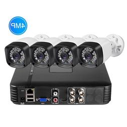 FUERS H.264 4CH DVR KIT CCTV <font><b>Camera</b></font> <fon