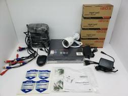 Zosi H.264 Security Camera DVR with 4 Cameras- -black