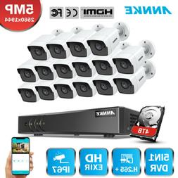 ANNKE H.265 16CH DVR 5MP Video Outdoor CCTV Security Camera