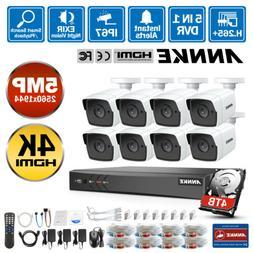ANNKE H.265+ 5in1 Ultra HD 4K 8MP 8CH DVR 5MP CCTV Security