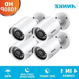 ANNKE HD 1080P 4in1 CCTV Security Camera IR Night Outdoor Bu
