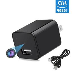 HD 1080P DVR Camera USB Wall Charger Adapter Video Recorder