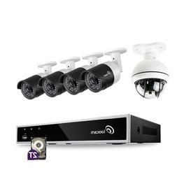 Loocam HD 1080p PTZ PanTilt Surveillance Security Camera Sys
