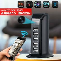 HD 1080P WIFI Wireless Hidden Camera Socket USB Charger mini