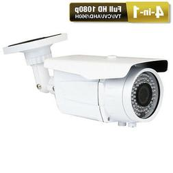 HD-TVI 2.6MP Full 1080P 72IR 2.8-12mm Varifocal Zoom Bullet