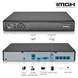 ANNKE HD 4CH 6MP NVR POE CCTV Video Recorder Smart Search Ho