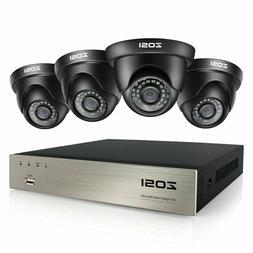 ZOSI HD 8CH H.265+ HDMI DVR 1080P IR Outdoor CCTV Home Secur