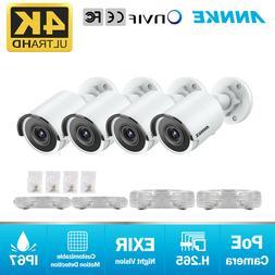 ANNKE HD 8MP IP CCTV POE Security Camera 4K Outdoor Bullet I