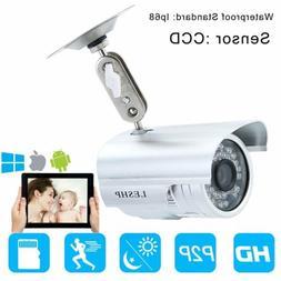 HD CCTV 1200TVL Surveillance Security Camera Waterproof Outd