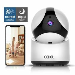 UOKOO HD Home Security Surveillance WiFi Camera with Motion