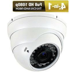 LEXAcctv 5MP TVI HD 2.7-13.5mm MOTORIZED Zoom WeatherProof Video CCTV Camera
