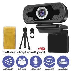 HD Webcam USB Computer Web Camera For PC Laptop Desktop Vide